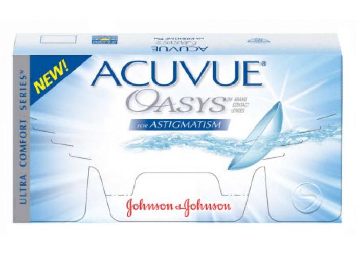 2ae805d6fdf0e Acuvue Oasys Astigmatism (cx 12) - Lentes de Contacto Johnson   Johnson
